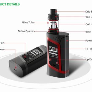 100-original-220w-smok-alien-kit-with-3ml-tfv8-baby-tank-atomizer-alien-220w-box-mod-vape-vaporizer-electronic-cig-smok-alien