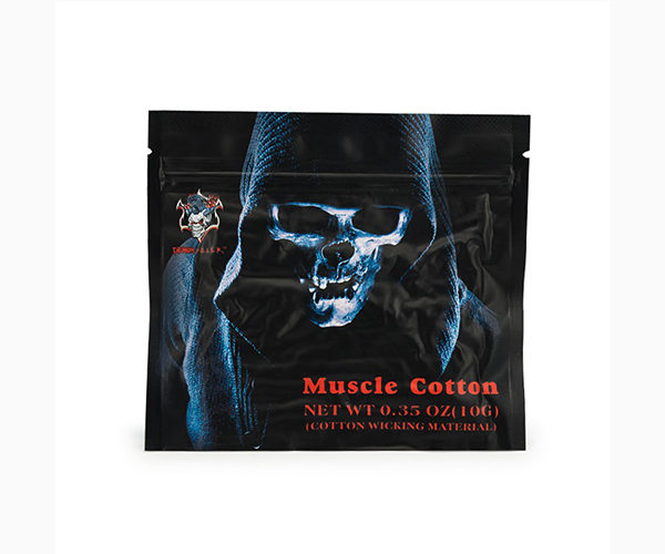 Demon Killer Muscle Cotton Organic Cotton Fiber 100%