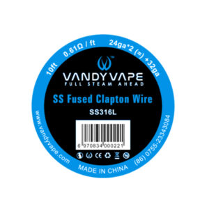 Fused Clapton SS316L Vape Wires EW