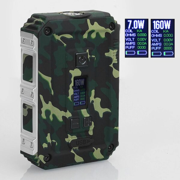 authentic-aimidi-tank-t2-160w-waterproof-tc-vw-variable-wattage-box-mod-army-green