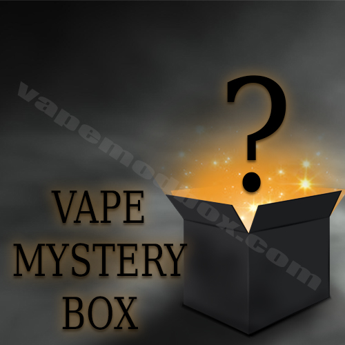 Vape Mystery Box Buy Yourself a Surprise Mods, Kits, Pods and up to 500ml e Liquid